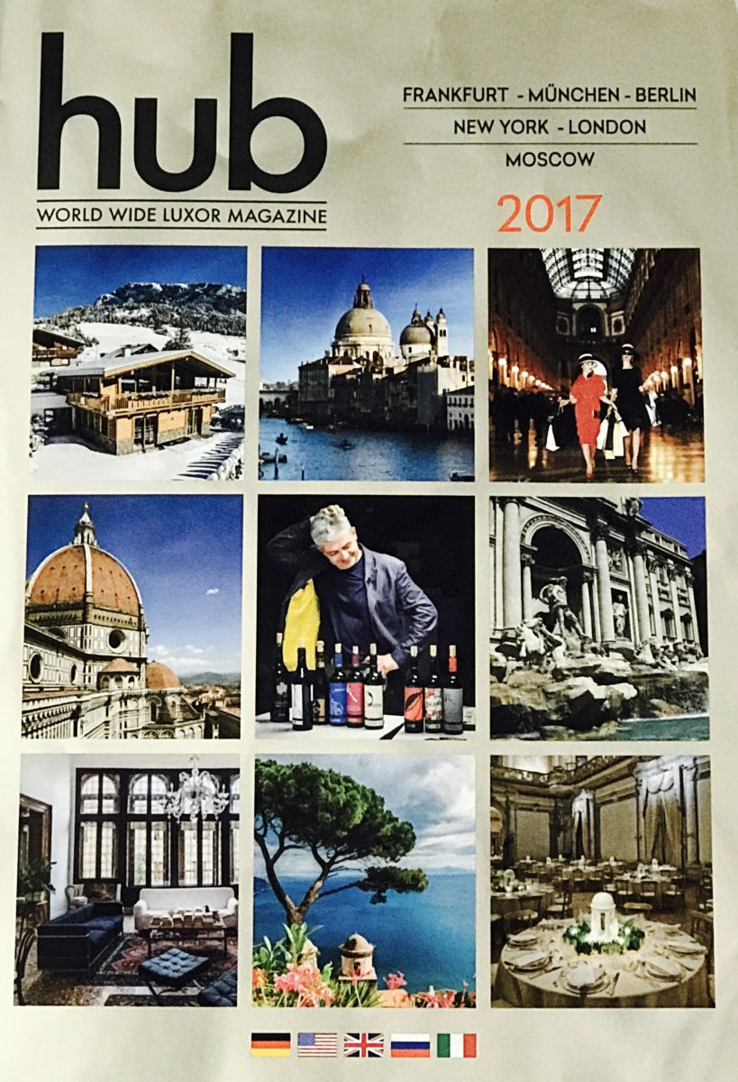 Hub World wide Luxor Magazine 2017 Marino Orlandi
